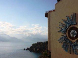 املاک در آنتالیا - فروش آپارتمان با دید دریا در آنتالیا