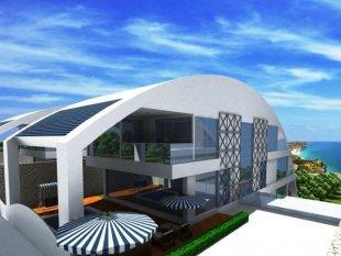 فروش ویلا آپارتمانهای بزرگ در آلانیا